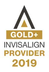 Invisalign Gold Provider for 2019 Badge